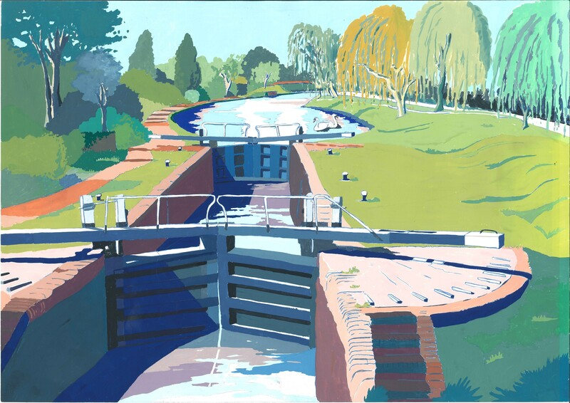 Artwork: Grand Union Canal